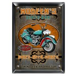 Personalized Biker Bar Pub Sign