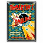 Personalized Bowling Lanes Pub Sign