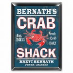 Personalized Crab Shack Pub Sign