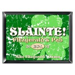 Personalized Jolly Green Clover Pub Sign