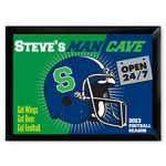 Personalized Open 24-7 Man Cave Pub Sign