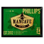 Personalized Tap Room Man Cave Pub Sign