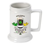 Personalized 16 oz. German Beer Stein (Available in 37 Designs)