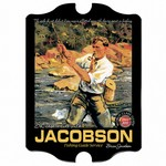 Vintage Personalized Fishing Guide Pub Sign