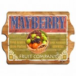 Vintage Personalized Fruit Company Pub Sign