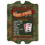 Personalized House of Cards Vintage Pub Sign