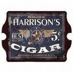 Vintage Personalized Patriot Cigar Pub Sign