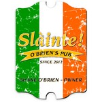 Vintage Personalized Pride of the Irish Pub Sign