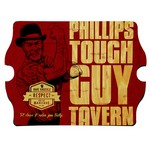 Personalized Tough Guy Vintage Tavern Sign