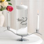 Personalized Floating Unity Candle Set