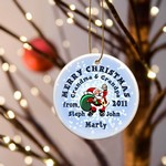 Personalized Merry Christmas Ornaments