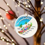 Personalized Elves Family Ornament