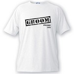 Personalized Stamp Series Groom T-Shirt