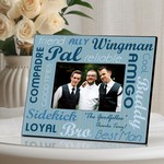 Personalized Best Buds Picture Frame (Available in 3 Designs)