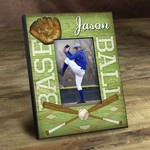 Personalized Batter Up Baseball Picture Frame