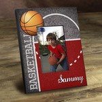Personalized Hoops Basketball Picture Frame