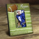 Personalized Touchdown Football Picture Frame