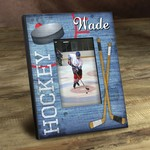 Personalized Power Play Hockey Picture Frame