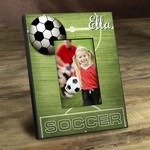 Personalized Kick It Up Soccer Picture Frame