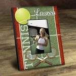 Personalized Tennis Anyone? Picture Frame
