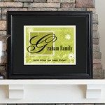 Personalized Family Name Frame (Available in 6 Colors)