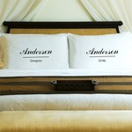 Personalized Couples Classic Pillow Case Set
