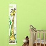 Personalized Growing Giraffe Height Chart