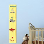 Personalized Ship Shape Height Chart