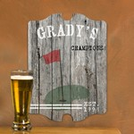 Personalized Vintage Golf Man Cave Pub Sign
