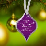 Personalized Classic Shape Christmas Ornaments