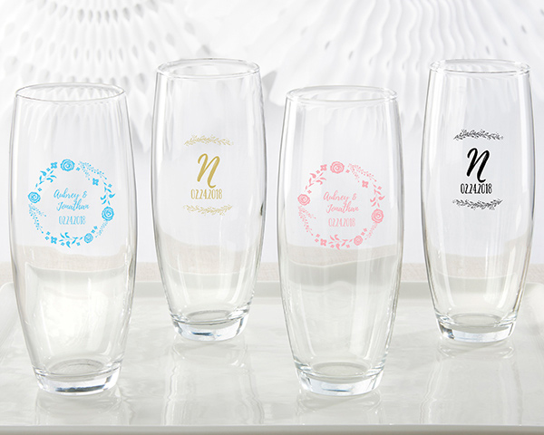 339dce75b280 Personalized 9 oz. Stemless Champagne Glass - Ethereal - Famous Favors