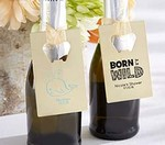 Personalized Gold Credit Card Bottle Opener - Baby Shower