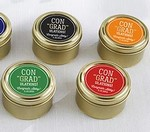 Personalized Gold Round Candy Tin - ConGRADulations! (Set of 12)