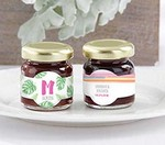 Personalized Strawberry Jam - Pineapples and Palms (Set of 12)
