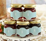 Personalized Strawberry Jam - Rustic Wedding (Set of 12)