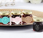Personalized Strawberry Jam - Wedding (Set of 12)