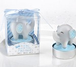 Elephant Shaped Candle - Little Peanut (Blue) (Set of 4)