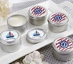 Personalized Travel Candle - Nautical Birthday Collection