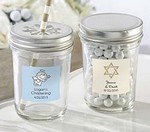 Personalized Glass Mason Jar - Religious (Set of 12)