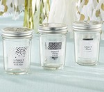 Personalized Mason Jar - Silver Foil (Set of 12)