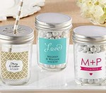 Personalized Glass Mason Jar (Set of 12)