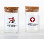 Personalized Glass Tube Jar - Hangover (Set of 12)