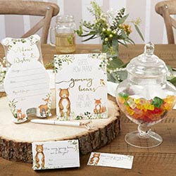 Woodland Baby Shower Advice Card & Game (Set of 50)