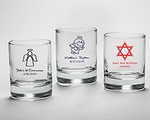 Personalized Shot Glass/Votive Holder - Religious