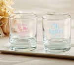 Personalized 9 oz. Rocks Glass - Baby Shower