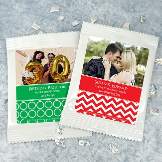 Personalized Photo Cosmopolitan Favors