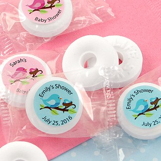 Personalized Baby Shower Life Savers Mint Favors