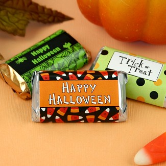 Personalized Halloween Hershey's Miniatures Wrappers
