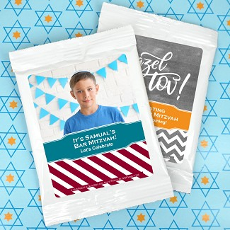 Bar Mitzvah & Bat Mitzvah Personalized Lemonade Favors
