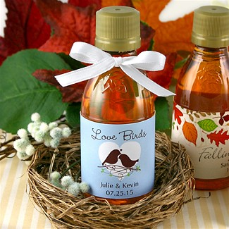 Personalized Maple Syrup Favors